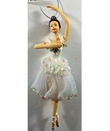 NEW Avon Ballerina 6.75 inch Christmas Tree Ornament - $12.86