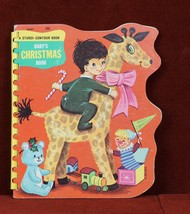 Baby's Christmas Book A Sturdi-Contour Book 1967 Board Book Childrens - $8.80
