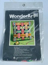 "Vintage Wonder Art Needlepoint 4"" x 4"" Pincushion Kit - Ribbons 6952 Col... - $11.95"
