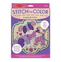 Melissa & Doug Stitch by Color Puppy & Kitten - $6.92