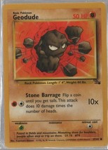 Two Geodude - Pokemon Colllectible Card Game - Fighting  - 1999 - 27/62 ... - $1.01