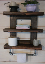 Industrial Bathroom Shelf  - $75.00