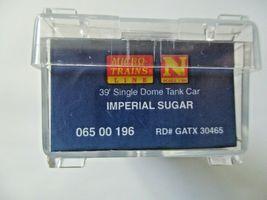 Micro-Trains # 06500196 Imperial Sugar 39' Single Dome Tank Car N-Scale image 6