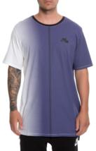 NIKE Dip Dye Foam T-Shirt sz L Large White Varsity Purple - $39.90