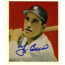 Yogi Berra Signed 1949 Bowman Reprint 1988 Card - $119.95