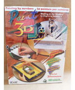 Paint 3D Cat Waiting in the Window Craft Kit Picture Frame Wrebbit NIB b... - $25.99