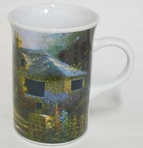 2004 Hollyhock House ~ Thomas Kinkade ~ Heat Activated Lights In Windows Cup Mug - $19.99