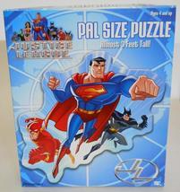 2006 Pressman Toy ~ Justice League ~ Pal Size Puzzle ~ Superman Batman ~ Sealed - $24.95
