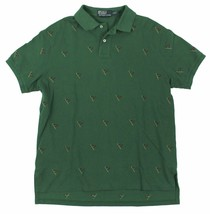 Polo Ralph Lauren Men's Custom-Fit Allover Flag Embroidered Polo Shirt (X-Lar... - $69.27
