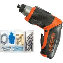 Black & Decker 4-volt Lithium Pivot Screwdriver BDKBDCS40BI - $86.35
