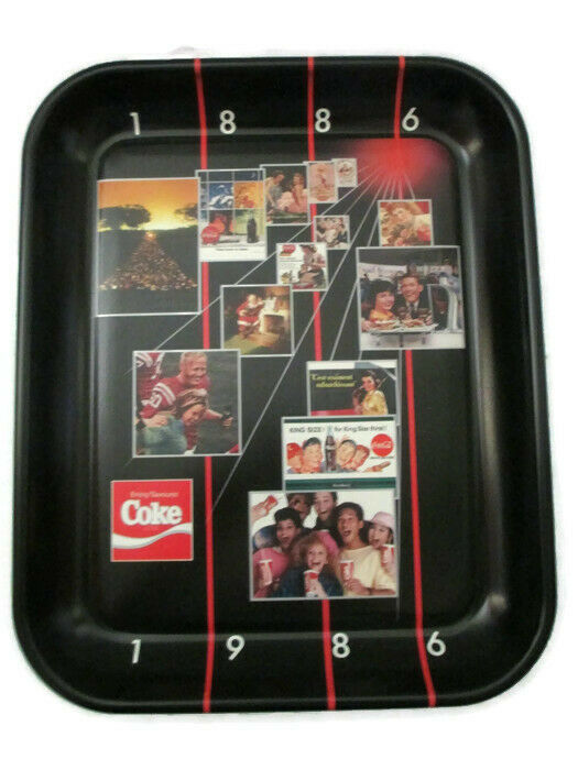 Primary image for Coca-Cola Commemorative Tray 100th Anniversary Canada 1886 - 1986 Issued 1986