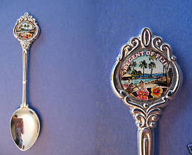 Regent of FIJI Souvenir Collector Spoon Collectible FIJIAN Resort WESTIN image 1