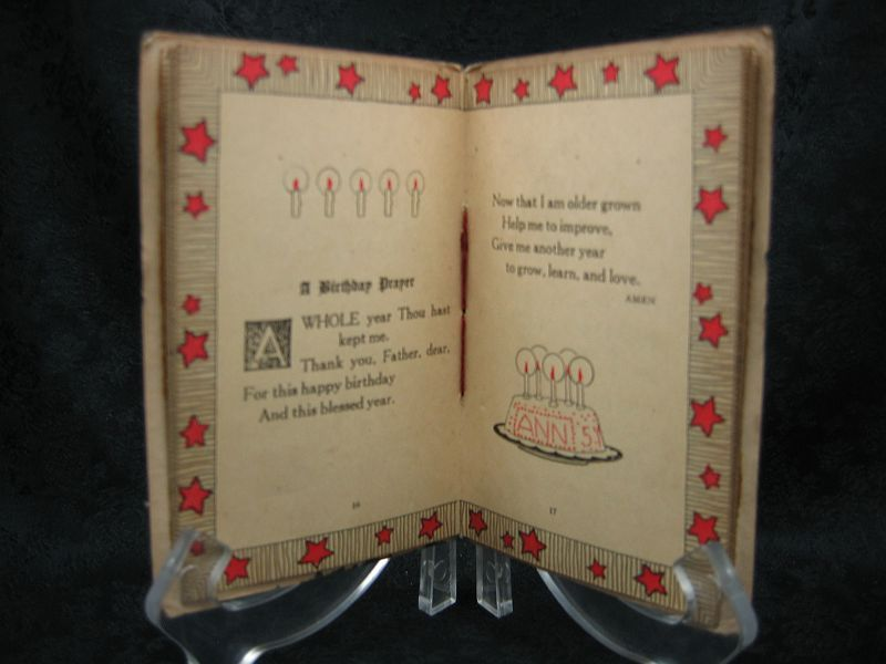 Prayers For Little Children by Lucy W. Peabody 1925