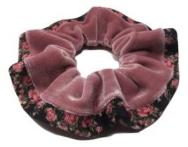 90's Fashion High Quality Velvet Hair Scrunchies. Handmade Ponytail Hold... - $6.00