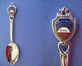 HOLLYWOOD California Souvenir Collector Spoon BOWL Collectible