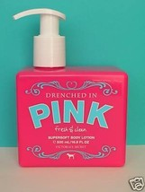 Victoria's Secret Drenched In Pink FRESH & CLEAN Supersoft Body Lotion 16.9 oz - $80.00