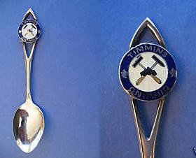 TIMMINS Ontario Souvenir Collector Spoon STERLING SILVER Collectible