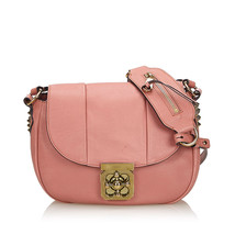 Pre-Loved Chloe Pink Others Leather Elsie Crossbody Bag Hungary - $452.54