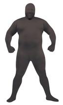 Skin Suit Costume Black Jumpsuit Adult Men Women Halloween Plus Size FW1... - €51,42 EUR