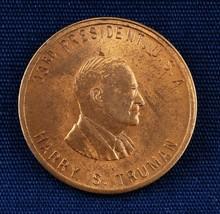 US President Harry S Truman Commemorative Coin Token Used - $3.00
