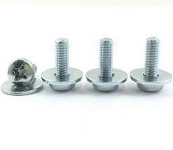 4 New Onn Tv Wall Mount Mounting Screws For Model ONA50UB19E05, ONA55UB19E06 - $6.62