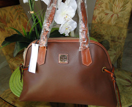 Dooney & Bourke Domed Pebble Leather Shoulder Bag image 1