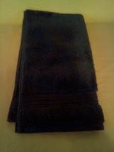 FIELDCREST  100%Cotton HAND Towel  Metallic Blue- image 2