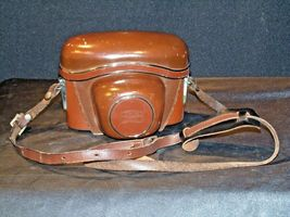 Zeiss Ikon Contaflex Super Camera with hard leather Case AA-192013 Vintage image 5