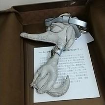 GUCCI Authentic GUCCIOLI Greyhound Dog Key Ring Bag Charm New Unused - $249.99