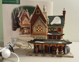 Dept 56 Dickens Village Series 1999 THE CHINA TRADER 58447 Retired 2000 - $39.95