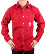 NEW LEVI'S MEN'S COTTON CLASSIC LONG SLEEVE DENIM BUTTON UP DRESS SHIRT-81060 image 1