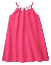 Gymboree Daisy Park Pink Dress Daisy Appliques 4 5 NWT Cotton - $12.99