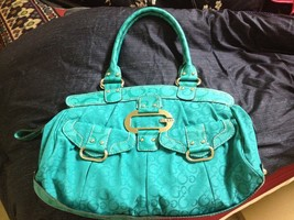 Authentic Guess by Marciano Turquoise Shoulder Bag - $75.00