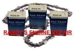 "18"" 3/8"" .050"" 3-PK Husqvarna Saw Chain 455 Rancher 460 - $59.92"