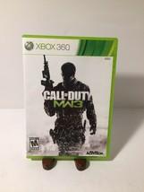 Call of Duty MW3 Modern Warfare 3 XBOX 360 Video Game - $4.17