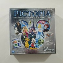 Pictopia Disney Edition Trivia Board Game 2014 Wonderforge  - $16.82