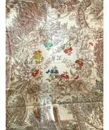 Hermes Le Jardin de Leila au Bloc  Shawl Scarf 20 years on eBay! - $1,064.75