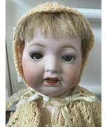 """Morimura Brothers Doll 1918  Bisque Composite Jointed Hair 4 Outfits 15"""" Japan - $346.50"""