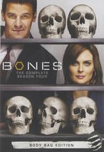Bones The Complete Fourth Season 4 Four Series DVD TV Show Thrillers Epi... - $36.62