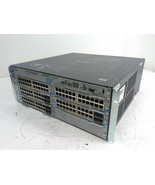 HP ProCurve Switch J8697A with 2x 8702A 3x 8705A Modules 1x 8712A PSU - $306.00