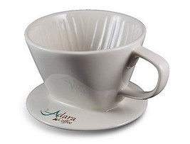 Adara Coffee Ceramic Pour Over Coffee Dripper |... - $13.15