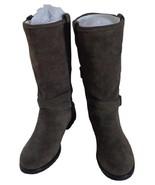 NIB - COACH Women's 100% Nubuck Suede VALLIE Mid-Calf Boot MSRP $398 - $158.40