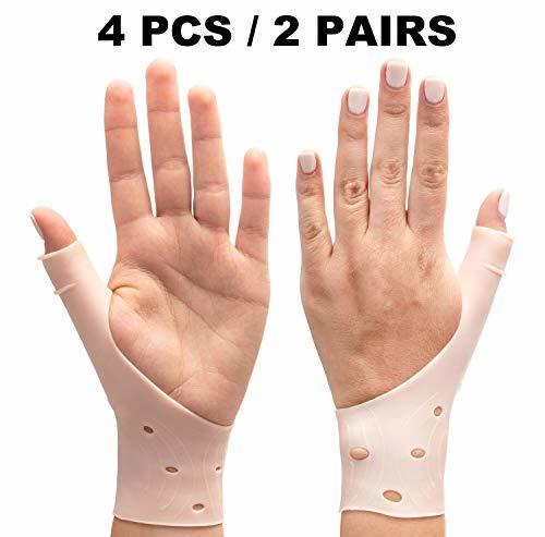 DropSky Gel Wrist Thumb Brace Breathable Waterproof | Right & Left Hand | Light  image 2