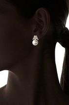Stella + Ruby Placcato Oro Paese Delle Meraviglie Perle Zircone Cubico Cristallo image 2
