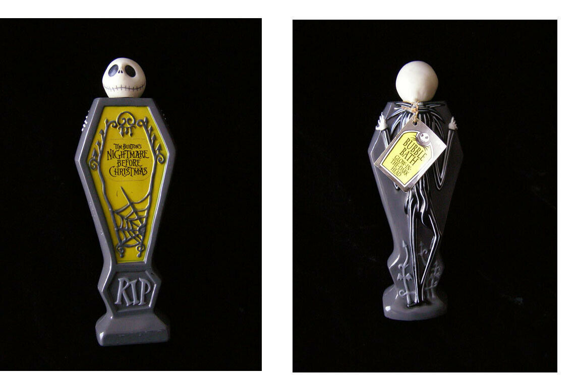 Primary image for Nightmare Before Christmas Jack Skellington Bubble Bath Container 1993