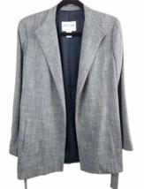 Oscar de la Renta Women Gray Blazer Suit Jacket Size 4 Made in USA image 1