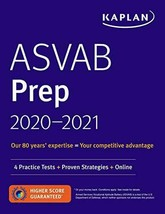 ASVAB Prep 2020-2021: 4 Practice Tests + Proven Strategies - $14.10