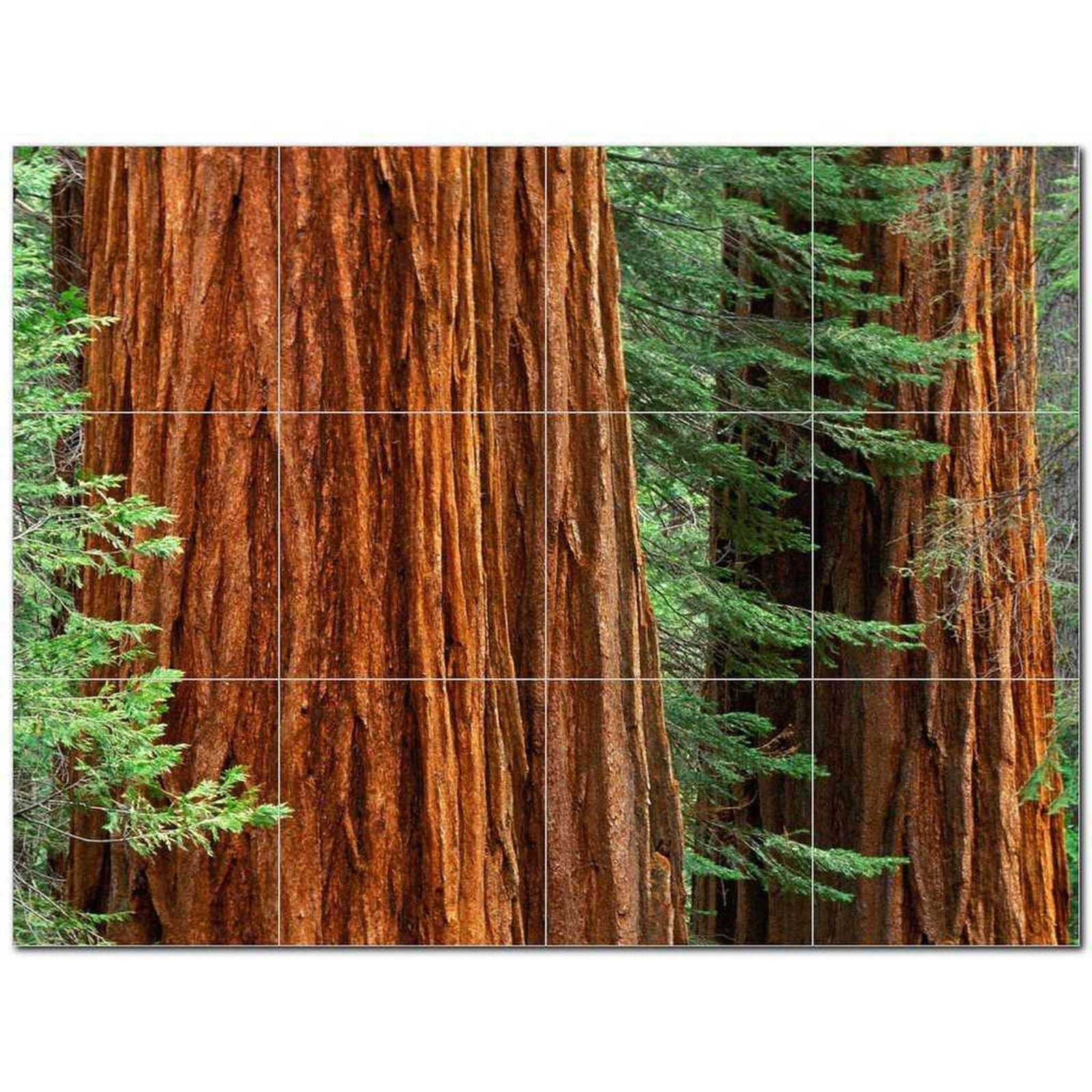 Primary image for Trees Leaves Ceramic Tile Mural Kitchen Backsplash Bathroom Shower BAZ406012