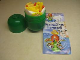 Kinder - 2000 Das Weihnachts KarussellL + paper + sticker - surprise egg - $1.50