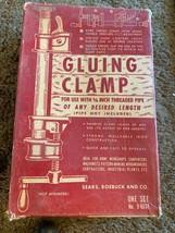 "Sears Roebuck & Co. Gluing Clamp 3/4"" Threaded Pipe Vintage RARE NIB - $38.61"